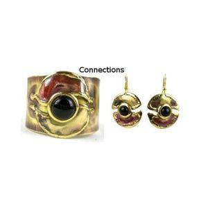 Jewelry - Onyx Brass and Copper